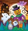 Halloween character scene 5