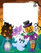 Halloween theme frame 6