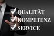 Qualität Kompetenz Service