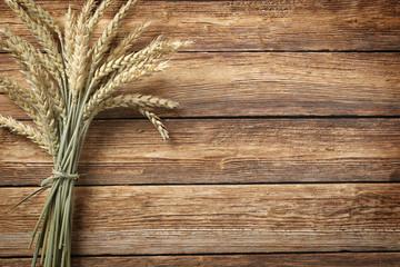 Getreide auf Holz