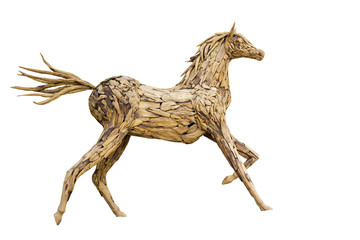 Beautiful sculpture of horse