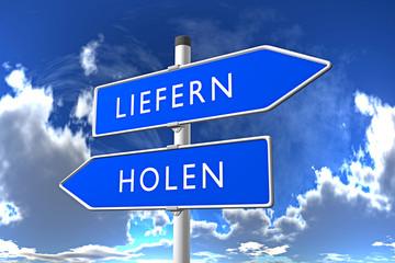 LIEFERN / HOLEN