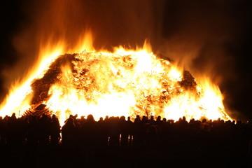 Watching the Bonfire