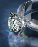 Diamond ring - 56353432