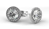Fototapety Diamond Earrings