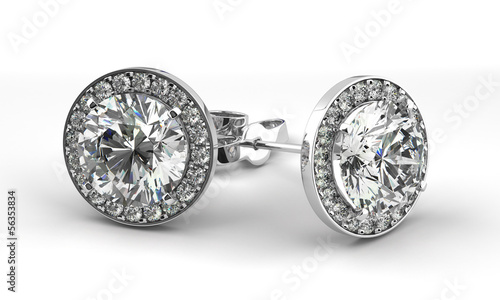 Diamond Earrings - 56353834