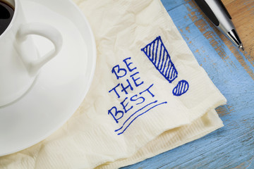 be the best on a napkin