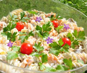 Deutsche Küche- Nudelsalat