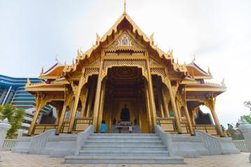 The beautiful of Royal Thai Pavilion in Siriraj Hospital, Bangko