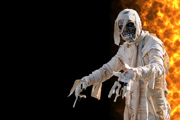 Mummy in an halloween night