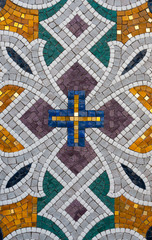 Pattern of stone mosaic.