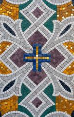 Pattern of stone mosaic.