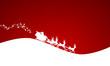 Weihnachten Karte Rentiere