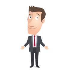 Manager, commercial, conseiller, cadre. Vecteur CMJN