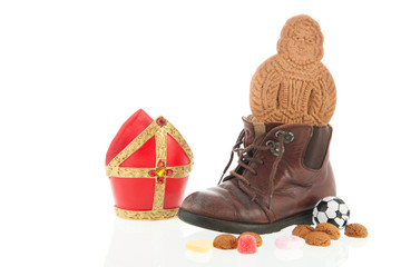 Shoe with Dutch Sinterklaas candy