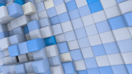 3D BLUE ANIMATED TEXTURE 01