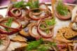 Herring sandwiche snackes