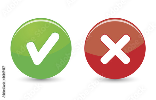 Approved Rejected Web Icons
