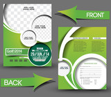 Golf Tournament Front & Back Flyer Template - 56370012