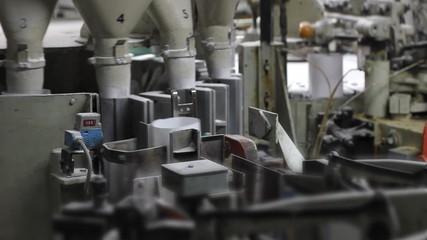 Sugar refinery, packing machine