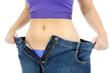Schlanker Bauch nach Diät