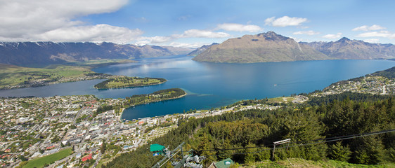 Neuseeland, Queenstown mit Lake Wakatipu