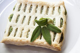 Frozen food,spinach pie