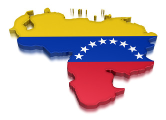 Venezuela (clipping path included)