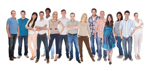 Group Of People Dressed In Casual