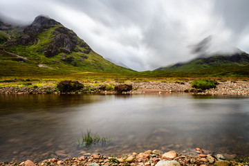 Glencoe, in the heart of the Highlands, Scotland