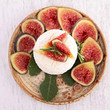 goat cheese with figs