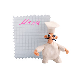 Cook made from clay