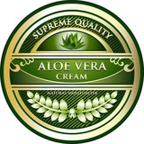 Aloe Vera Cream Vintage Label