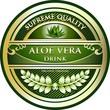 Aloe Vera Drink Vintage Label