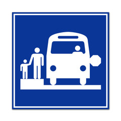 Señal autobus escolar