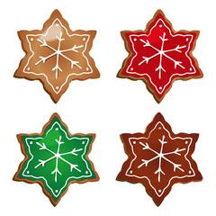 Biscuits noel étoiles