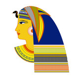 Ancient Egyptian Pharaoh - vector illustration