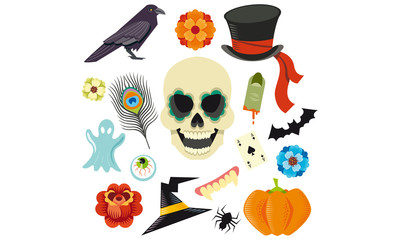 Elements pour Halloween