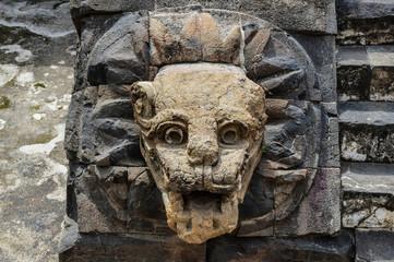 Headstone in Teotihuacan
