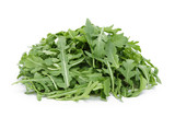 big heap of fresh arugula