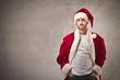 handsome Santa Claus