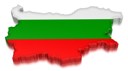 Bulgaria (clipping path included)