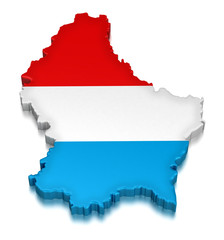 Luxembourg (clipping path included)