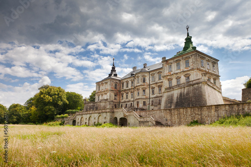 Old Pidhirtsi Castle, near Lviv, Ukraine