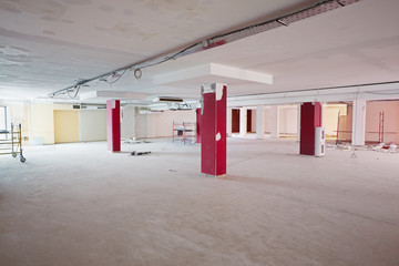 Empty room under repair works