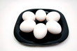 яйца на тарелке еда