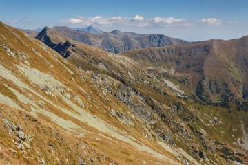 Western Tatras peaks