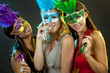 group of women partying