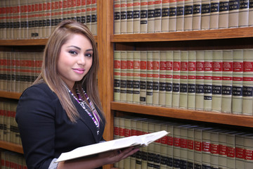 Woman Hispanic Lawyer