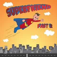 comic superhero cartoon character